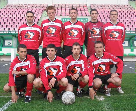 Finaliste tournoi des partenaires ASSE 2004-2005