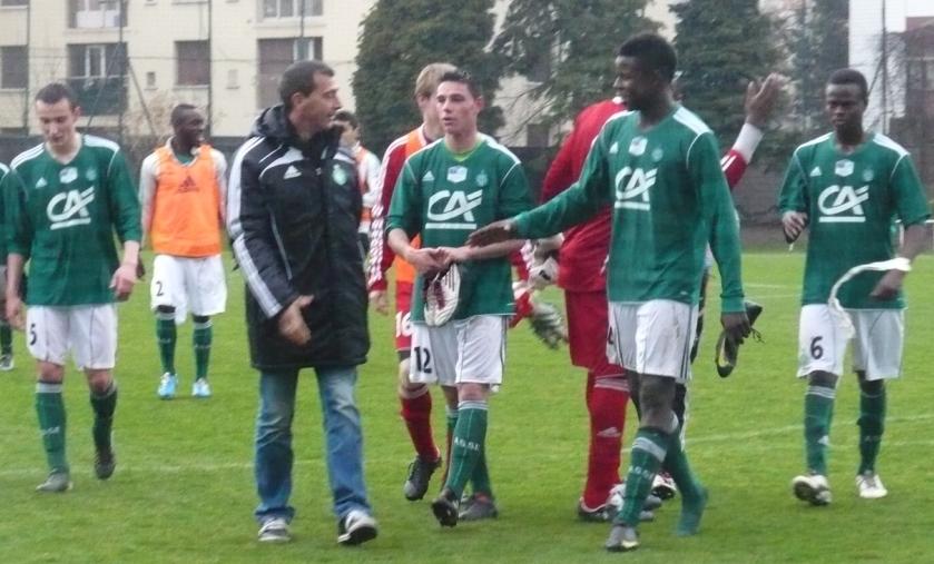 coupe Gambardella victoire ASSE contre Grenoble