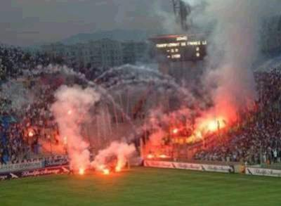 Banderole supporter Lyon