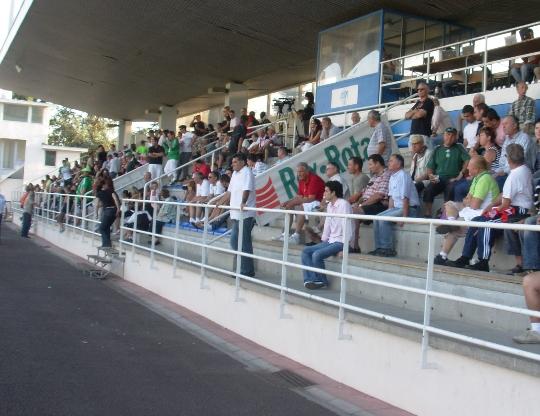 Croix-de-Savoie/ASSE : les spectateurs, les supporters